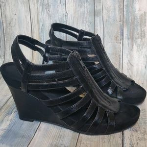 Aerosoles strappy wedge